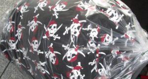 Piratenmuster Sitzsack