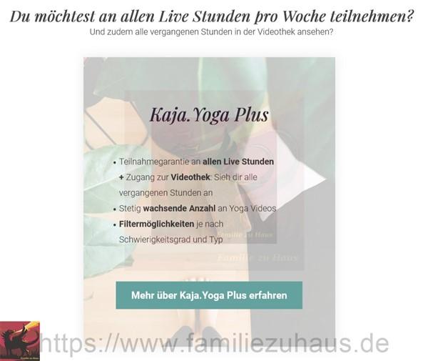 Kaja.Yoga Plus Familie zu Haus